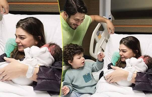 Пелин Карахан родила второго сына