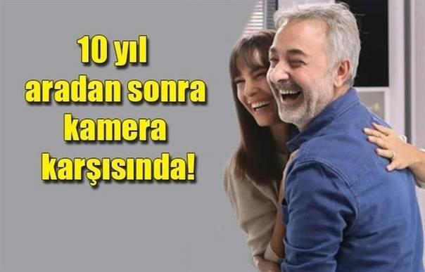 Арзум Онан и Мехмет Аслантуг спустя 10 лет снялись вместе в рекламе чистящего ср...